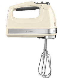 Ручной миксер KitchenAid, кремовый, 5KHM9212EAC
